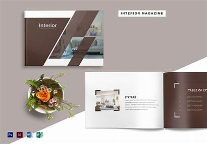 Magazine Interior Template Pages Photoshop Templates Word