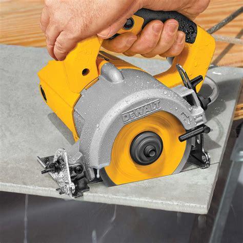 handheld tile saw dewalt heavy duty tile saw contractors direct