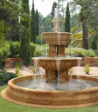 backyard water fountains 43 Beautiful Water Fountains Ideas for Your Front Yard - Wartaku.net