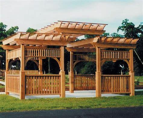 Wood Pergola Plans and Designs