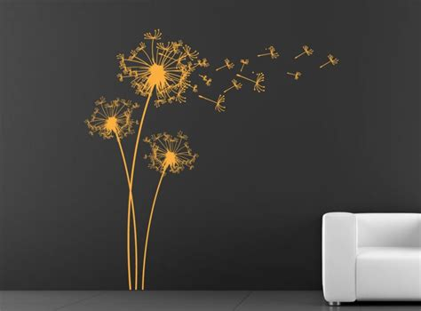 schablone pusteblume wand wandtattoo pusteblume sch 246 ne deko idee f 252 r jeden raum