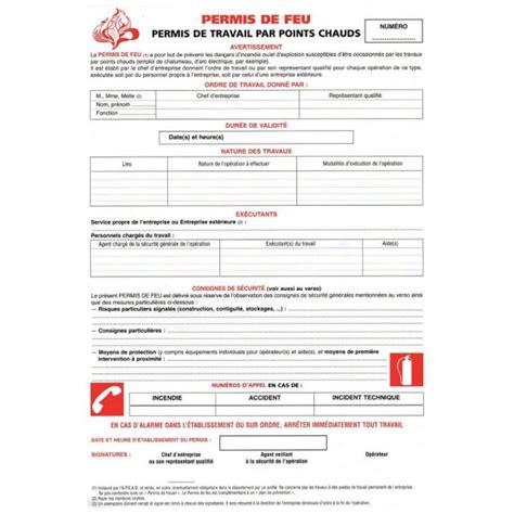 plaque porte bureau permis de feu stocksignes