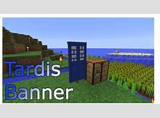 How to make the TARDIS Banner in Minecraft Doovi