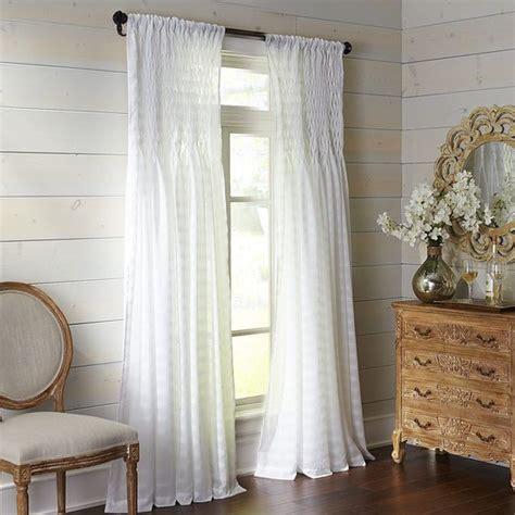 magnolia smocked curtain pier 1 imports nursery