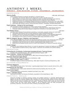 architectural drafting resume sle draftsman resume free printable potty charts resume word document how to create