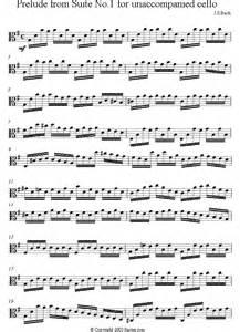 Bach - Prelude from Suite no 1 for unaccompanied cello