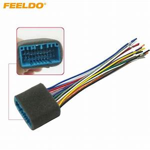 Feeldo Car Aftermarket Audio Radio Stereo Wiring Harness