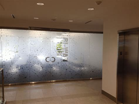 frosted glass walls  custom etched vinyl henderson nv