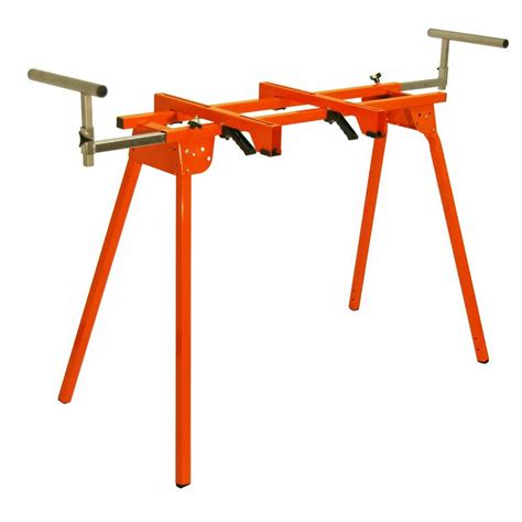home depot standing ls portamate folding portable miter saw stand pm 4000 the