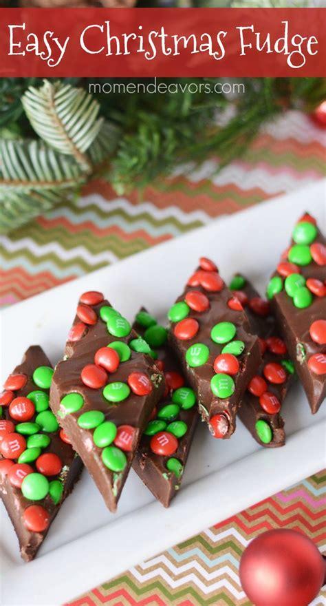 easy christmas candy fudge