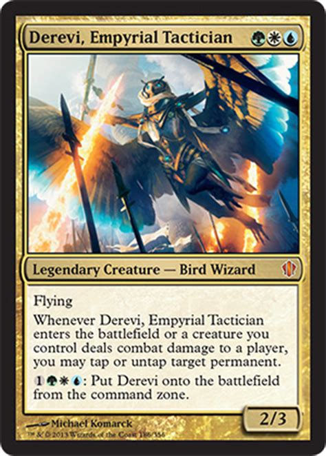 Most Competitive Edh Decks by Competitive Derevi Impyrial Tactician Heir To The