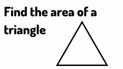 Triangle Area Formula Simple