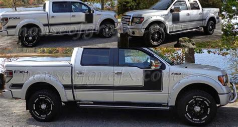 Solid Style2 Graphics Decals Stripes Fit 2008-2014 Ford