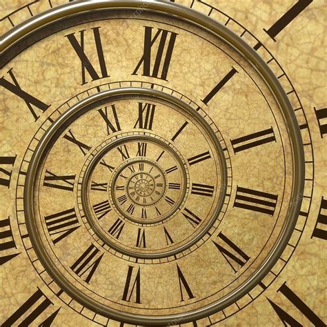 Time spiral - Stock Image - C025/8983 - Science Photo Library