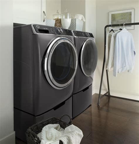 gfwspndg ge   cu ft front load powersteam washer wifi ultrafresh odorblock
