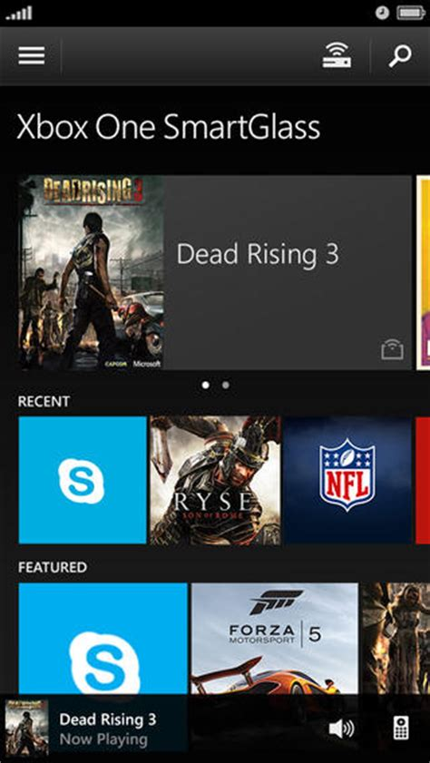 xbox one smartglass app is now your universal remote for tv and cable boxes