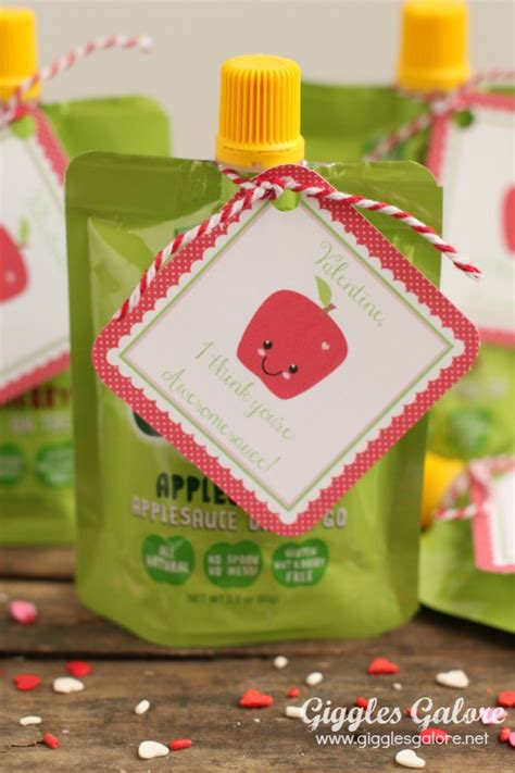 preschool valentines you re awesomesauce 906 | GoGo Squeeze Preschool Valentines