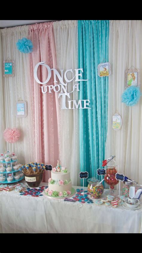 storybook themed baby shower decorations sweet table unisex baby shower storybook theme baby shower ideas pinterest unisex baby