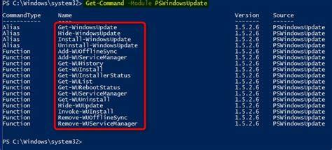 update  upgrade windows   powershell tutorials