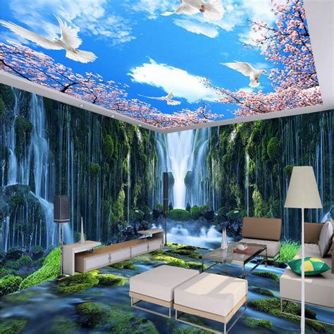 shipping waterfall water rock  theme space