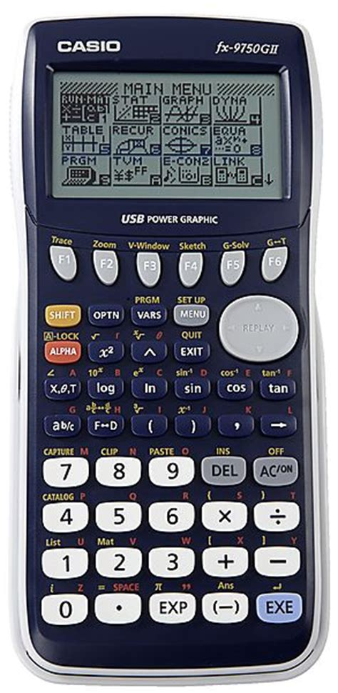 calculatrice graphique bureau en gros casio fx 9750gii calculator casio clas ohlson