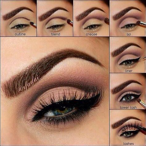 easy step  step makeup tutorials   love pretty designs