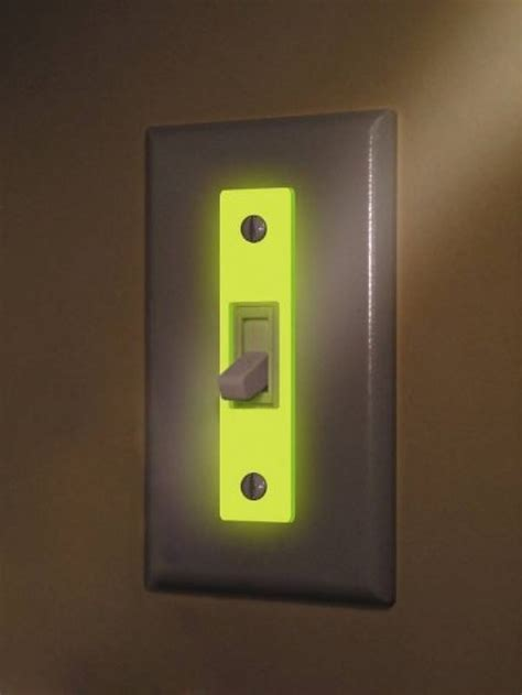 find a light glow in the wall plate inserts 3 pack