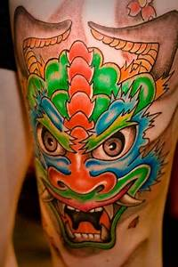 Mask Tattoos and Designs| Page 93