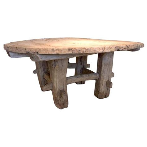 primitive coffee and end tables round primitive coffee table at 1stdibs
