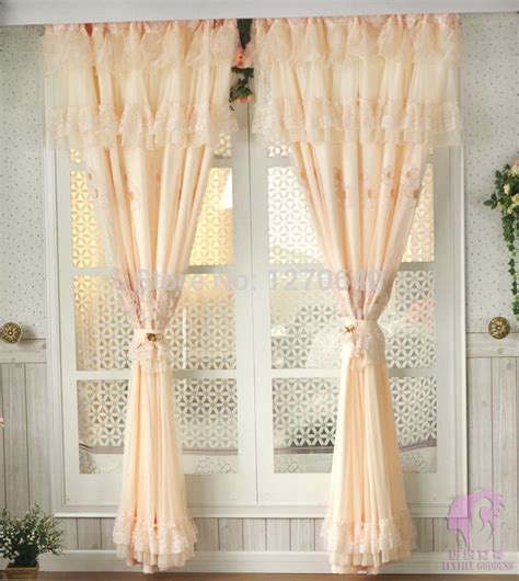 fashion home decor rustic embroidery lace curtains window