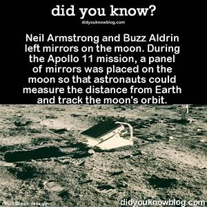 did you know? - Neil Armstrong and Buzz Aldrin left ...
