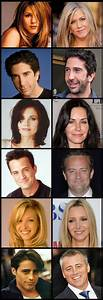 Friends cast (then and now) | Aging 1* . . a privilege ...