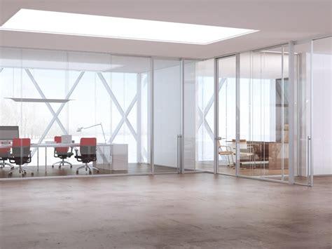 cloison de bureau en verre cloison amovible de bureau en aluminium et verre allinone