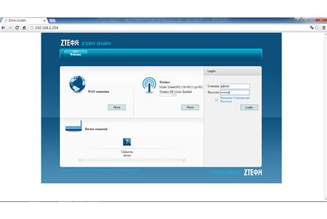 Mar 24, 2021 · the default username for your zte zxhn f609 router is admin and the default password is admin. Zte User Interface Password For Zxhn F609 / Cara Setting ...