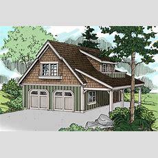 Craftsman House Plans  Garage Wliving 20020