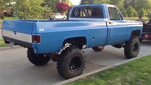 My 76 Chevy  10 U0026quot  Lift 38 U0026quot  Swampers  Cammed 350 With Turbo