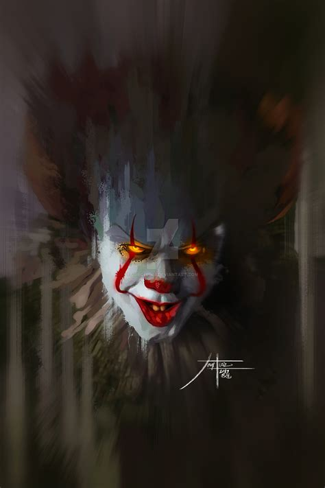 Background Digital Pennywise Clown Pennywise Wallpaper by Pennywise 2 2017 By Jorgel007 On Deviantart