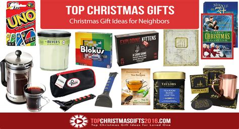 best christmas gift ideas for neighbors 2017 top
