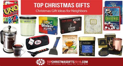 best christmas gift ideas for neighbors 2017 top