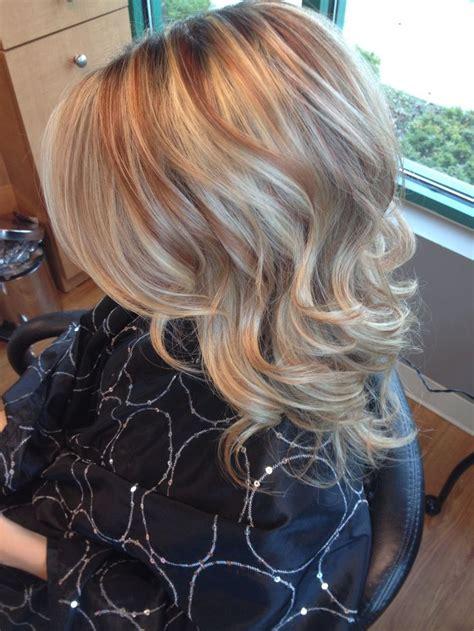 copper blonde hair  highlights google search hair