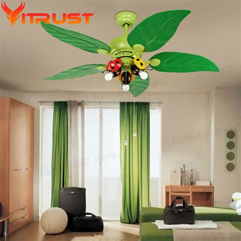 Decorative Bedroom Ceiling Fan Kids Iron Ceiling Fans For