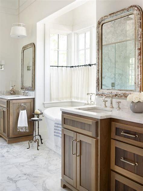 Distressed Bathroom Vanity Mirror by Iron Towel Rings Design Ideas