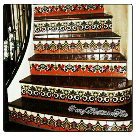 mexican tiles 169 kitchen bath stairs