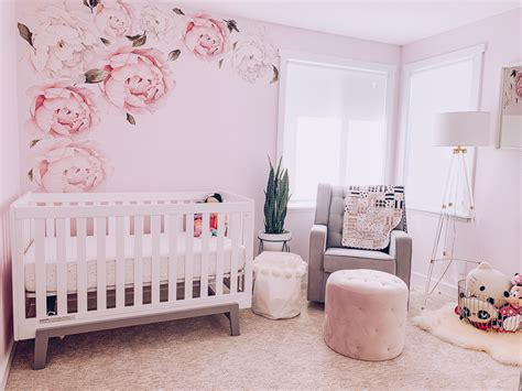 girly pink nursery decor   style ish