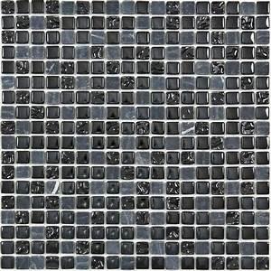 mosaique marbre et verre chrome color noire indoor by capri With mosaique carreaux