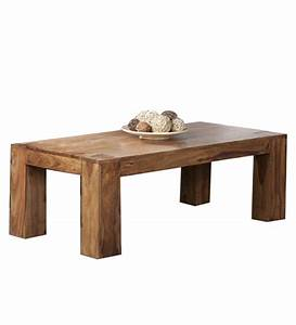 rectangular low seated coffee table harsha timbers With low solid wood coffee table