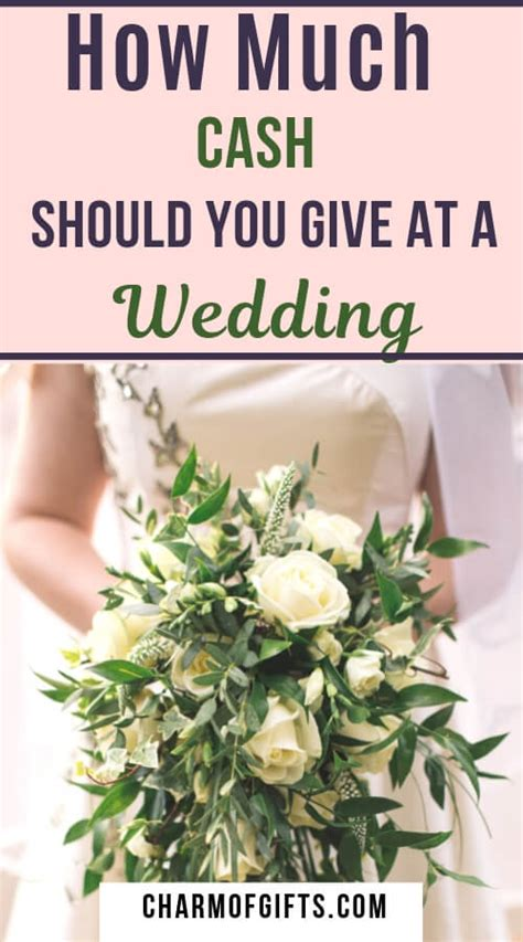 this is how much cash you should ideally give at a wedding