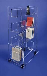 Bibliothèque Sur Roulette : biblioth que tag re plexiglas ~ Teatrodelosmanantiales.com Idées de Décoration