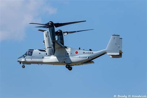 V-22 Osprey of JGSDF spotted during flight trials in USA ...