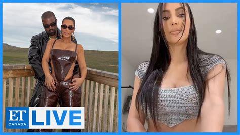 Kim Kardashian Responds To Kanye's Divorce Tweets   ET ...